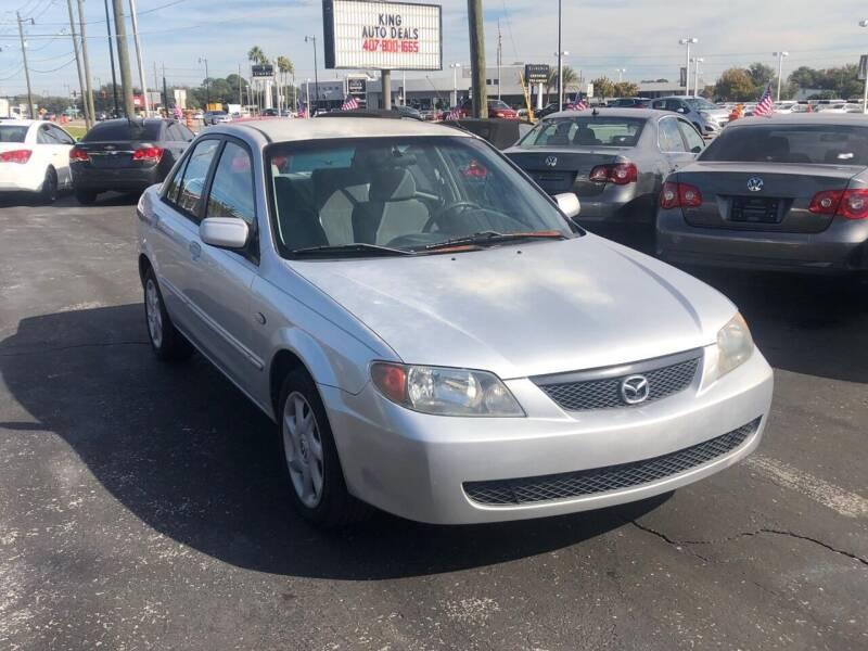 2002 Mazda Protege for sale at King Auto Deals in Longwood FL