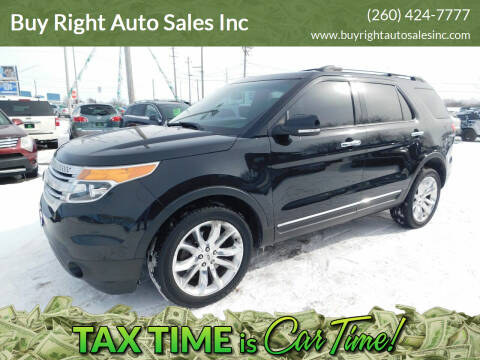 2015 Ford Explorer for sale at Buy Right Auto Sales Inc in Fort Wayne IN