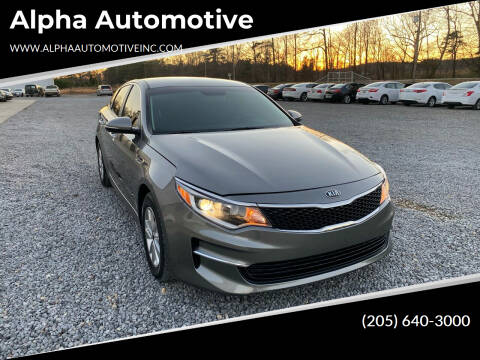 2018 Kia Optima for sale at Alpha Automotive in Odenville AL