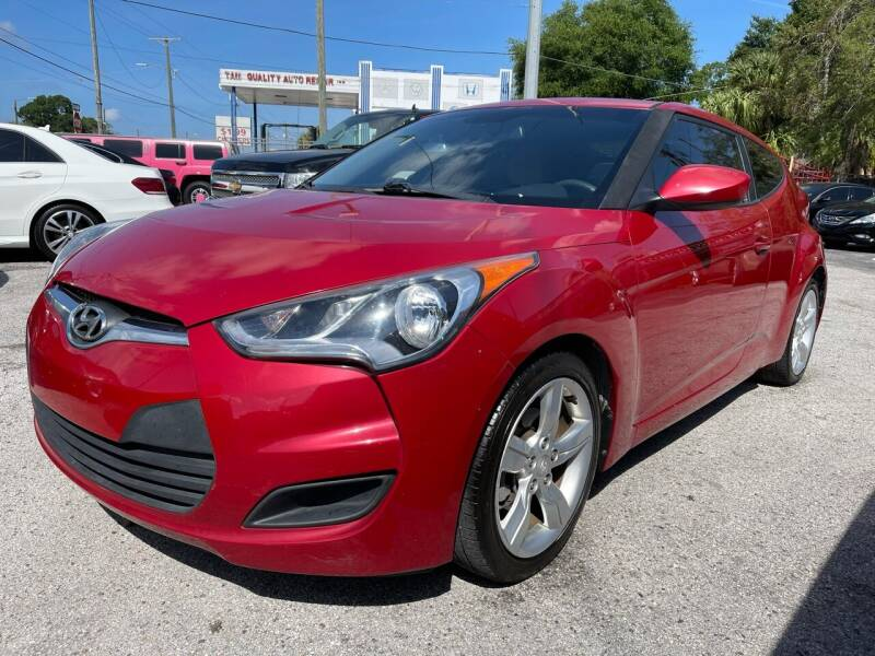 2014 Hyundai Veloster for sale at Always Approved Autos in Tampa FL