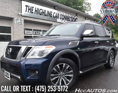 2019 Nissan Armada for sale at The Highline Car Connection in Waterbury CT