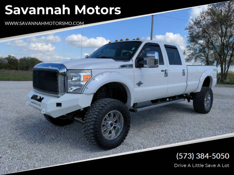 2013 Ford F-350 Super Duty for sale at Savannah Motors in Elsberry MO