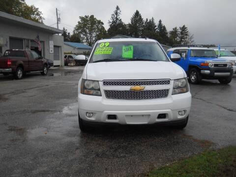 2009 Chevrolet Tahoe for sale at Shaw Motor Sales in Kalkaska MI