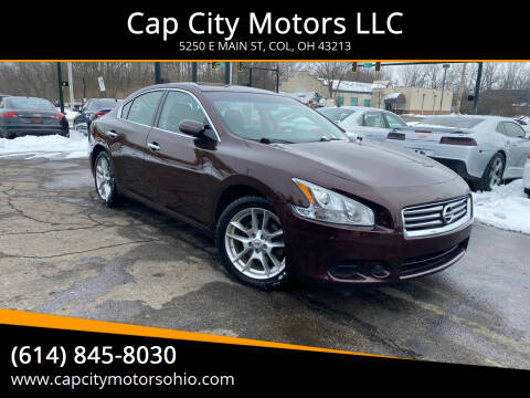2014 Nissan Maxima for sale at Cap City Motors LLC in Columbus OH