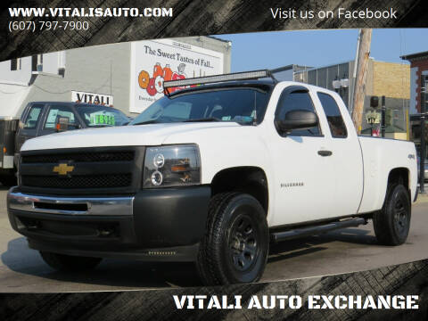 2012 Chevrolet Silverado 1500 for sale at VITALI AUTO EXCHANGE in Johnson City NY