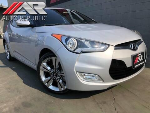 2016 Hyundai Veloster for sale at Auto Republic Fullerton in Fullerton CA