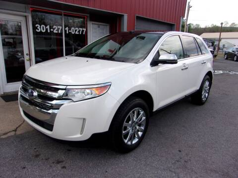 2012 Ford Edge for sale at THURMONT AUTO SALES in Thurmont MD