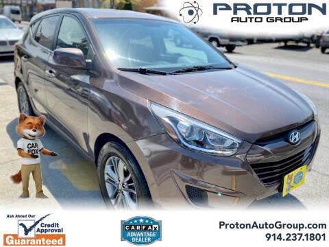 2015 Hyundai Tucson for sale at Proton Auto Group in Yonkers NY