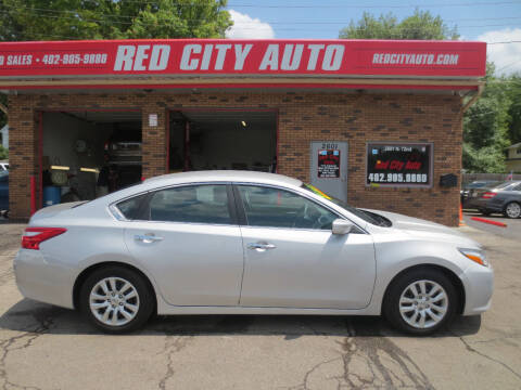 2017 Nissan Altima for sale at Red City  Auto in Omaha NE