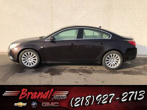 2011 Buick Regal for sale at Brandl GM in Aitkin MN