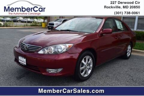 2006 Toyota Camry for sale at MemberCar in Rockville MD