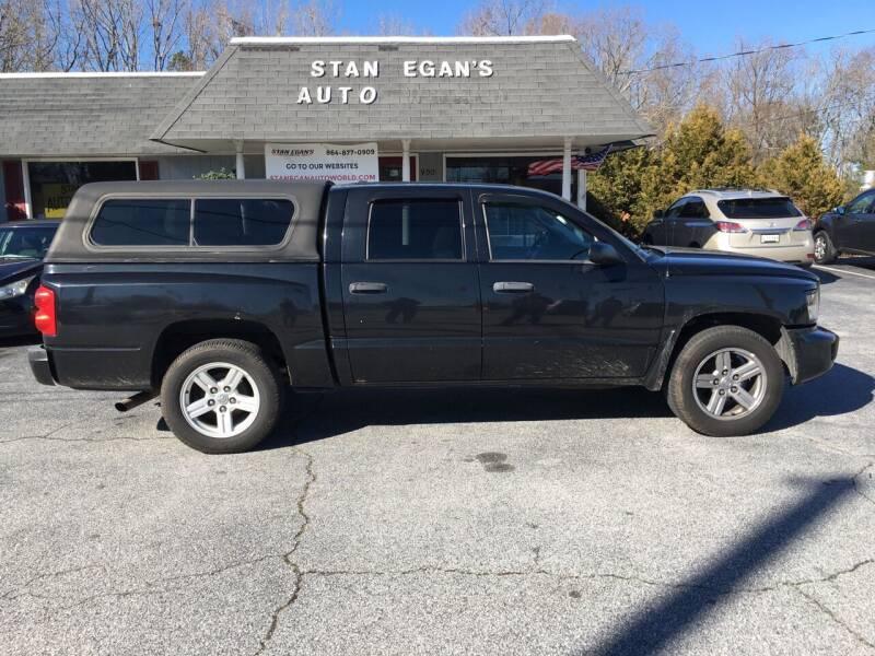 2008 Dodge Dakota for sale at STAN EGAN'S AUTO WORLD, INC. in Greer SC