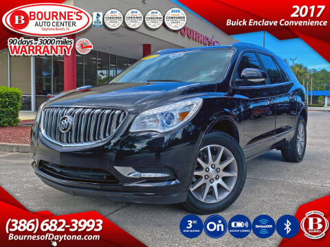 2017 Buick Enclave for sale at Bourne's Auto Center in Daytona Beach FL