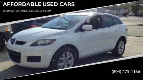 2009 Mazda CX-7 for sale at AFFORDABLE USED CARS in Richmond VA