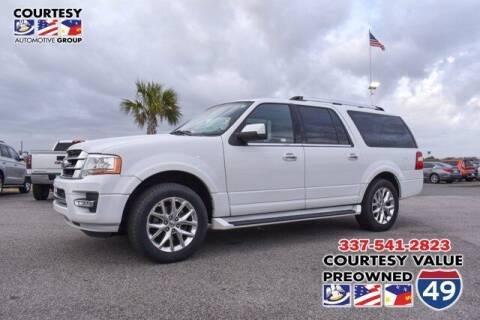 2017 Ford Expedition EL for sale at Courtesy Value Pre-Owned I-49 in Lafayette LA
