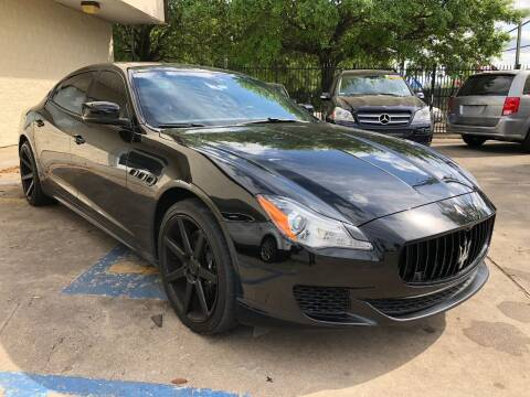 2014 Maserati Quattroporte for sale at The Auto & Marine Gallery of Houston in Houston TX