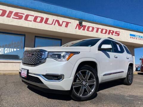 2017 GMC Acadia for sale at Discount Motors in Pueblo CO