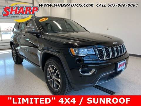 2018 Jeep Grand Cherokee for sale at Sharp Automotive in Watertown SD