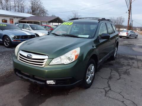 2010 Subaru Outback for sale at Rocket Center Auto Sales in Mount Carmel TN