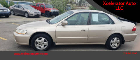 2000 Honda Accord for sale at Xcelerator Auto LLC in Indiana PA