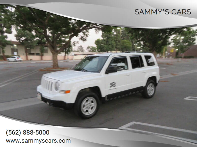 """2016 Jeep Patriot for sale at SAMMY""""S CARS in Bellflower CA"""