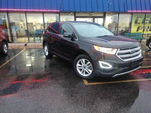 2015 Ford Edge for sale at CITY SELECT MOTORS in Galesburg IL