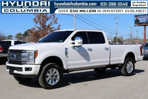 2017 Ford F-350 Super Duty for sale at Hyundai of Columbia Con Alvaro in Columbia TN