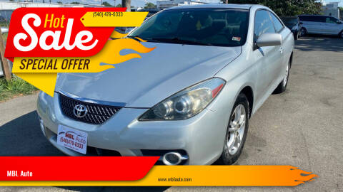 2007 Toyota Camry Solara for sale at MBL Auto Woodford in Woodford VA