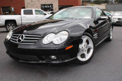 2005 Mercedes-Benz SL-Class for sale at Atlanta Unique Auto Sales in Norcross GA