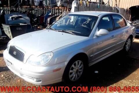 2002 Hyundai Sonata for sale at East Coast Auto Source Inc. in Bedford VA
