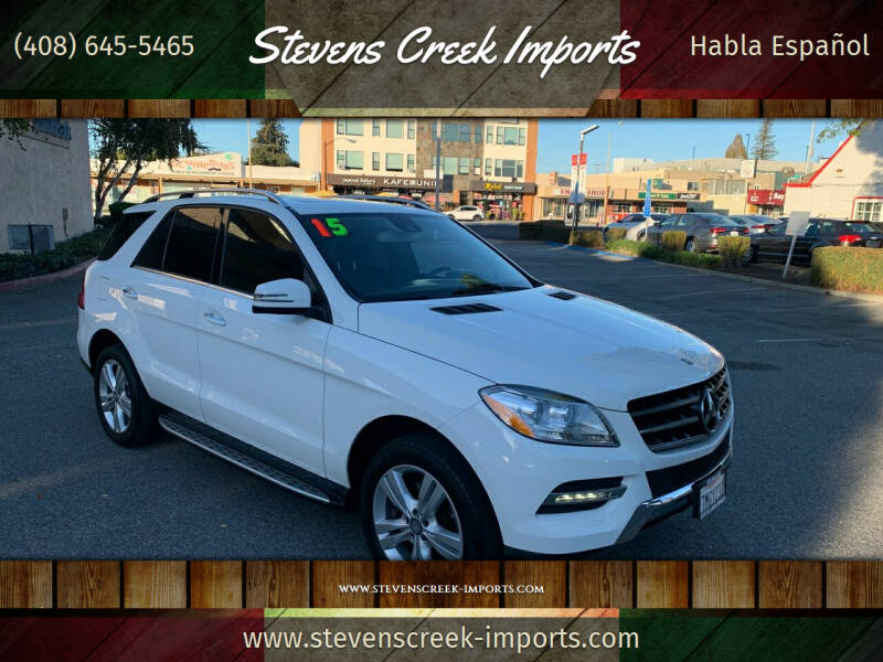 2015 Mercedes-Benz M-Class for sale at Stevens Creek Imports in San Jose CA