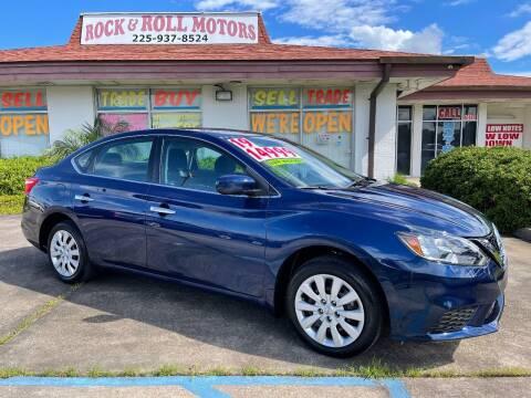 2019 Nissan Sentra for sale at Rock & Roll Motors in Baton Rouge LA