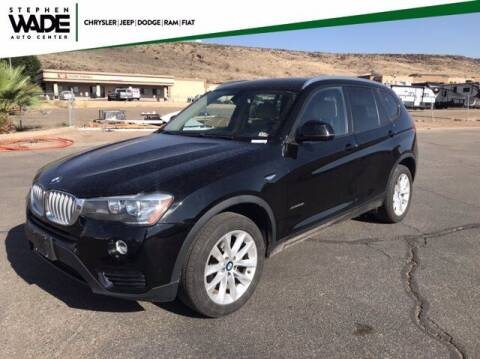 2016 BMW X3 for sale at Stephen Wade Pre-Owned Supercenter in Saint George UT