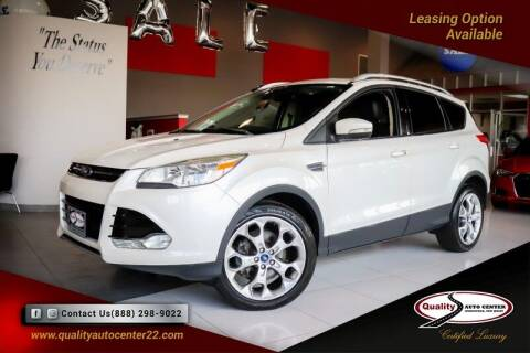 2015 Ford Escape for sale at Quality Auto Center of Springfield in Springfield NJ