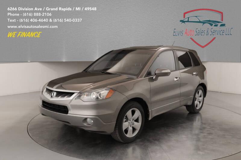 2007 Acura RDX for sale at Elvis Auto Sales LLC in Grand Rapids MI