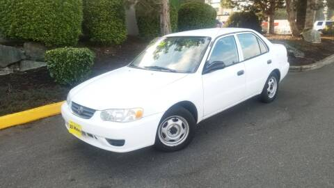 2002 Toyota Corolla for sale at SS MOTORS LLC in Edmonds WA