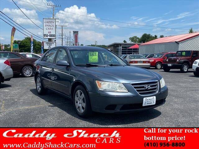 2009 Hyundai Sonata for sale at CADDY SHACK CARS in Edgewater MD