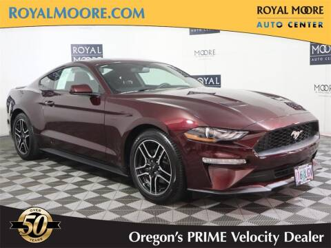 2018 Ford Mustang for sale at Royal Moore Custom Finance in Hillsboro OR