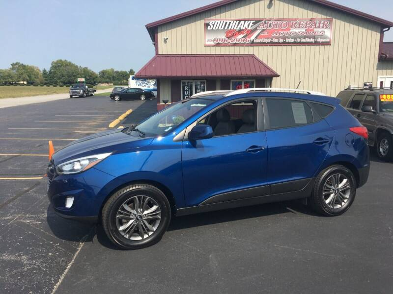 2015 Hyundai Tucson for sale at Southlake Body Auto Repair & Auto Sales in Hebron IN