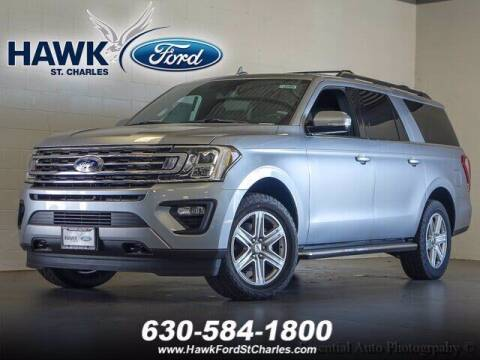 2020 Ford Expedition MAX for sale at Hawk Ford of St. Charles in St Charles IL
