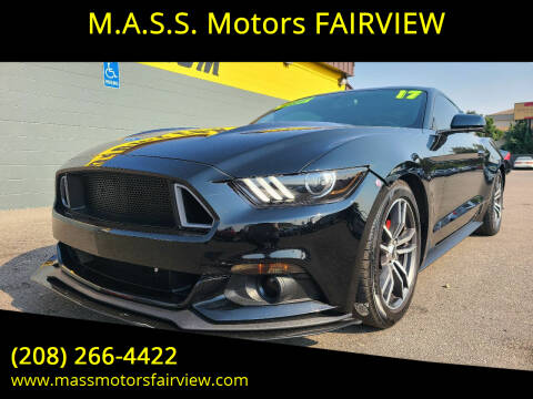 2017 Ford Mustang for sale at M.A.S.S. Motors - Fairview in Boise ID