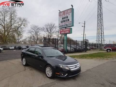 2010 Ford Fusion Hybrid for sale at Five Star Auto Center in Detroit MI