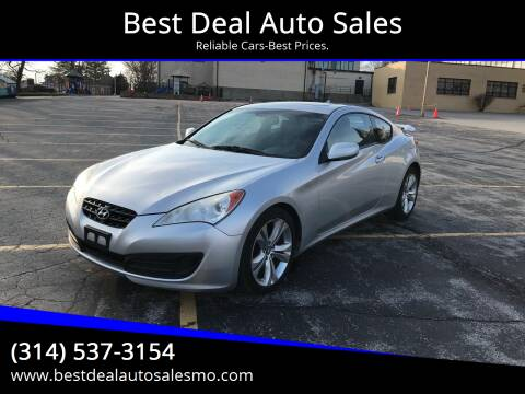 2010 Hyundai Genesis Coupe for sale at Best Deal Auto Sales in Saint Charles MO