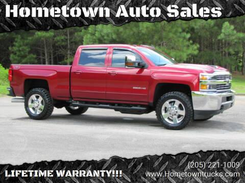 2018 Chevrolet Silverado 2500HD for sale at Hometown Auto Sales - Trucks in Jasper AL