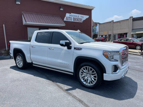 2019 GMC Sierra 1500 for sale at Middle Tennessee Auto Brokers LLC in Gallatin TN