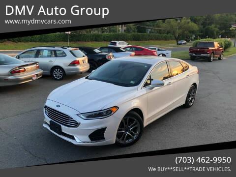 2019 Ford Fusion for sale at DMV Auto Group in Falls Church VA