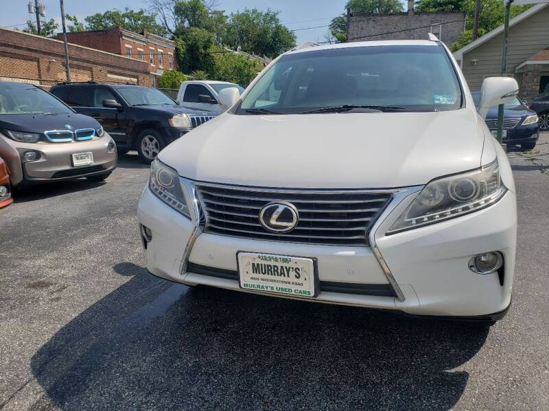 2013 Lexus RX 350 for sale at Murrays Used Cars in Baltimore MD