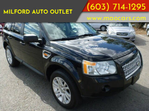 2008 Land Rover LR2 for sale at Milford Auto Outlet in Milford NH