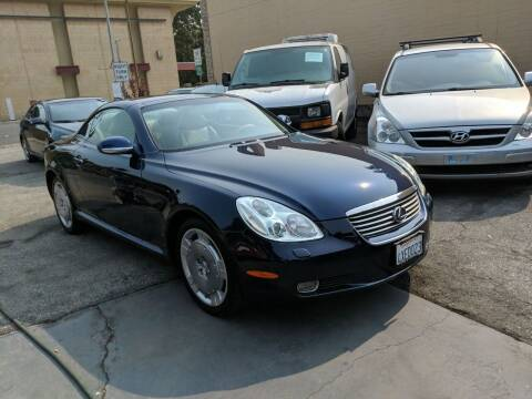 2002 Lexus SC 430 for sale at Auto City in Redwood City CA