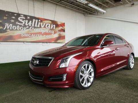 2014 Cadillac ATS for sale at SULLIVAN MOTOR COMPANY INC. in Mesa AZ